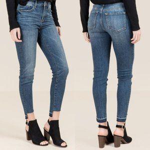Harper Women's Release Hem Skinny Jeans Medium Was